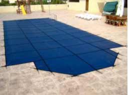 In Ground Deluxe  Criss Cross Swimming Pool Cover